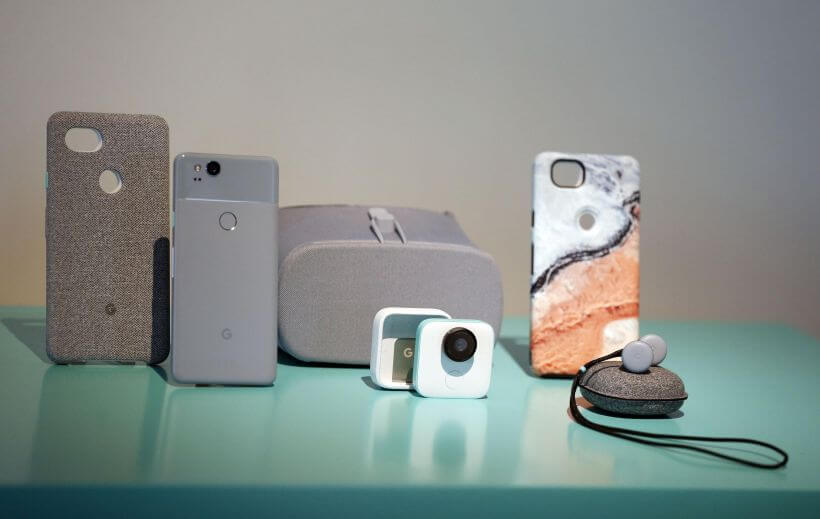 Google presentó sus teléfonos móviles Google Pixel 2